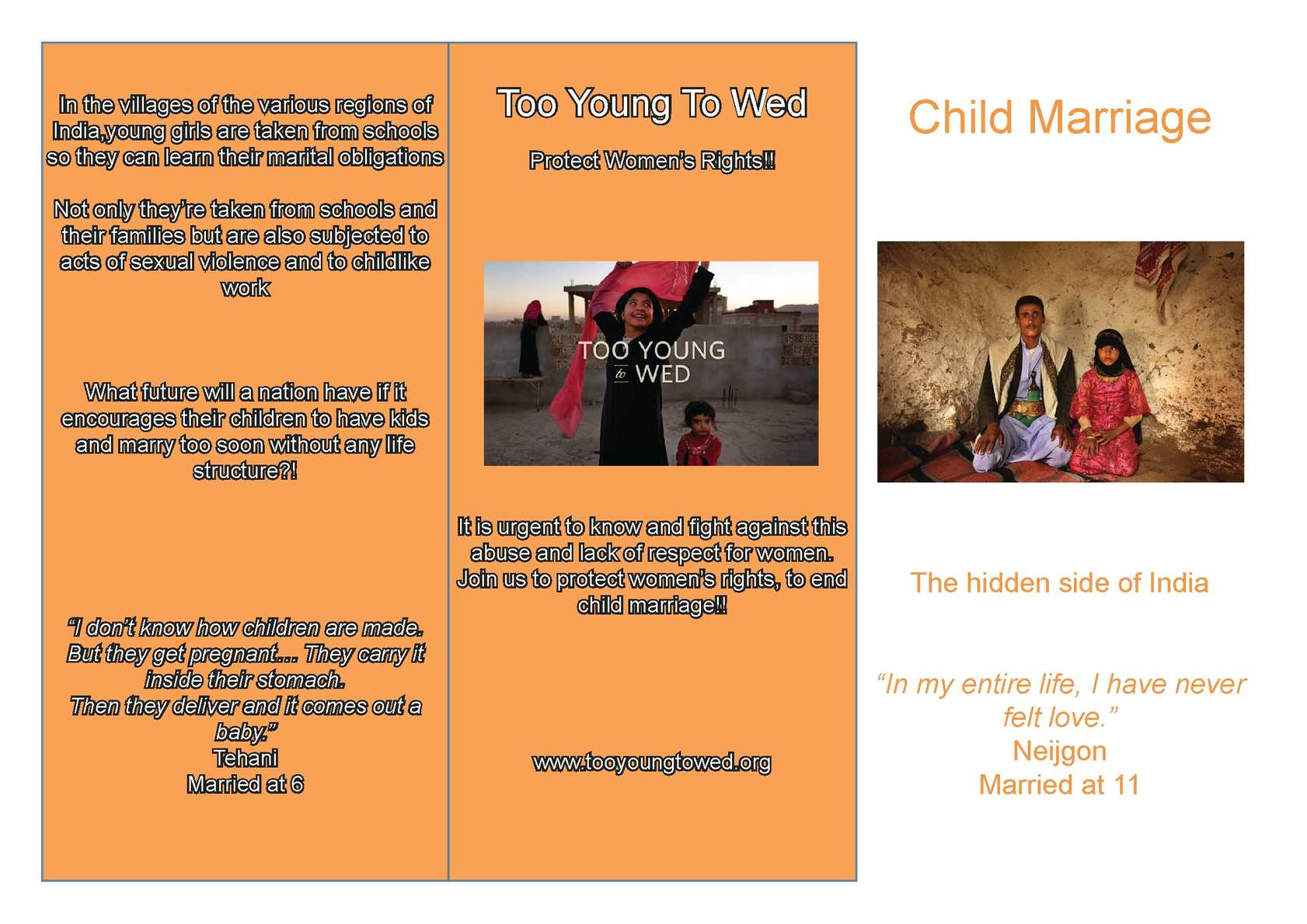 India in pdf marriage child