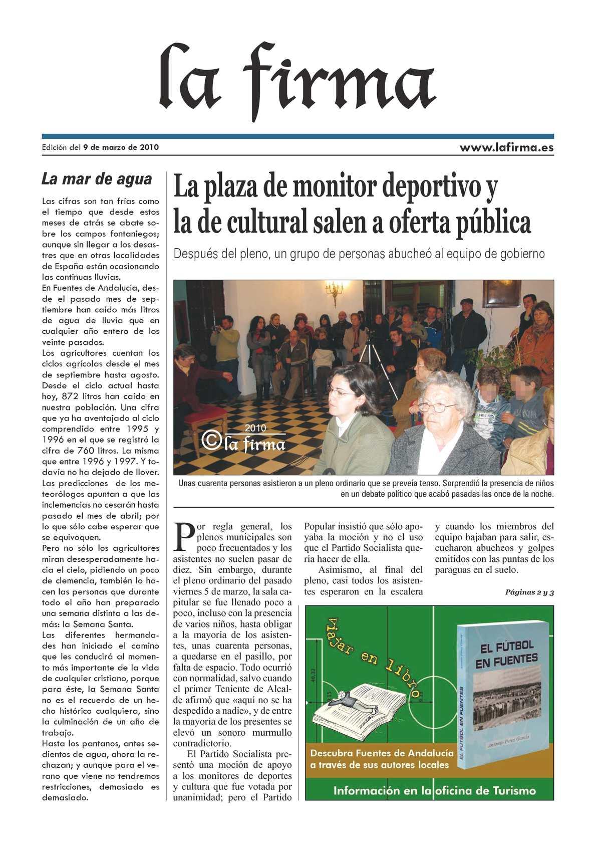 """La Firma"" EN PDF 9 MARZO 2010"