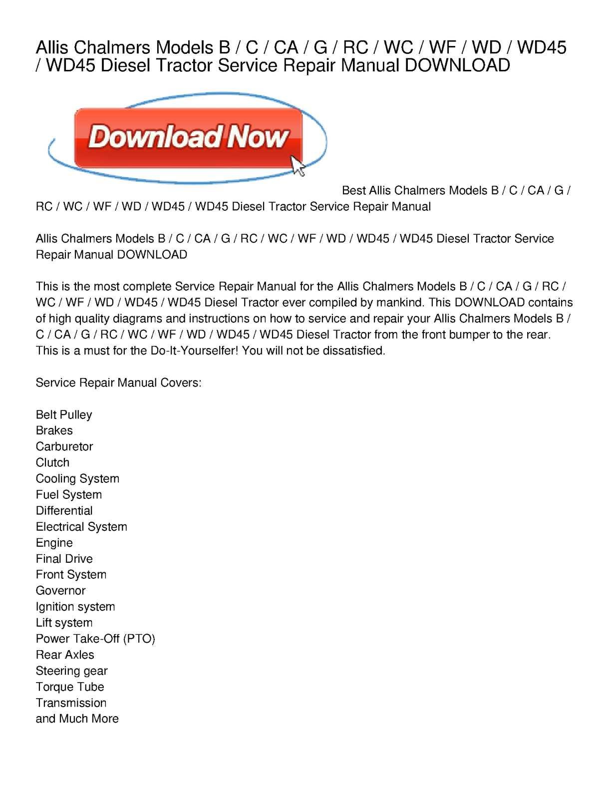 allis chalmers wiring schematic free download diagram best wiring rh 99 princestaash org