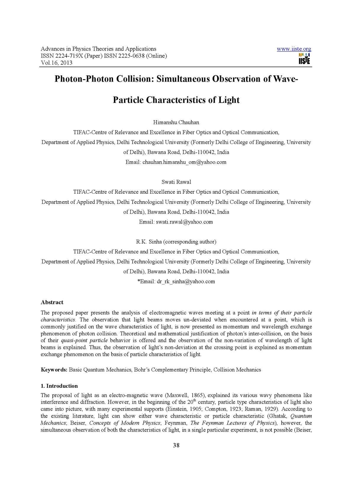 Calaméo - Photon-Photon Collision