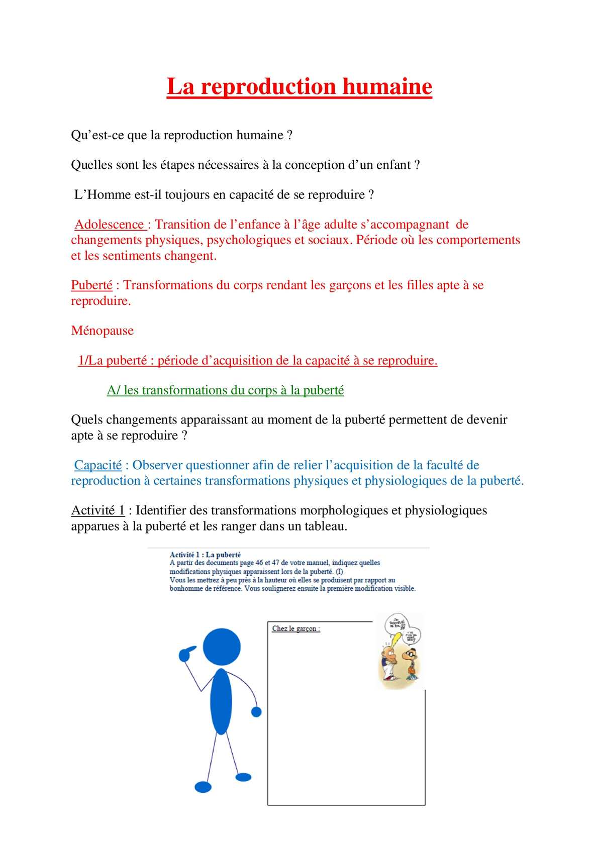Calameo Cours Reproduction