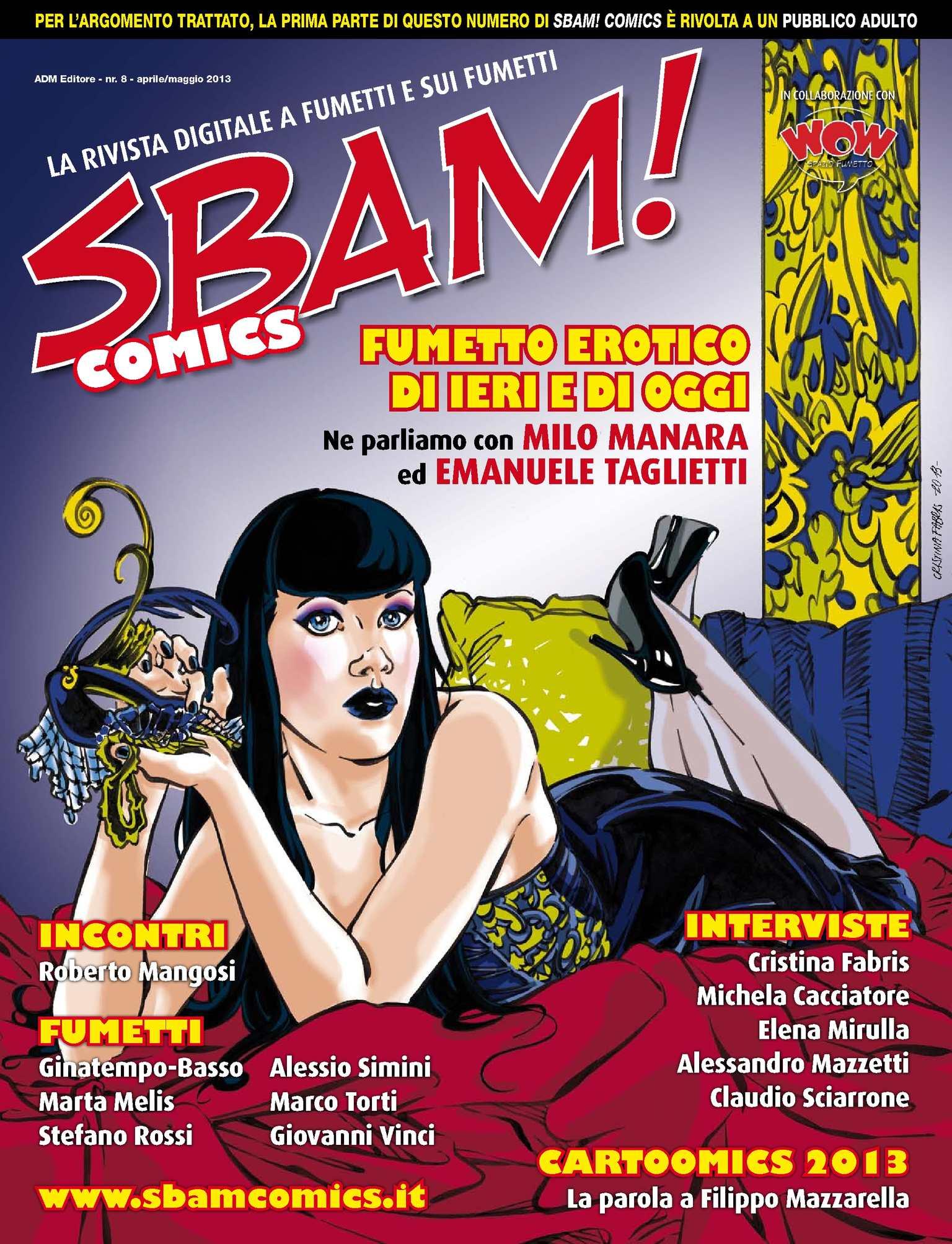 cartone animato Mostra fumetti porno
