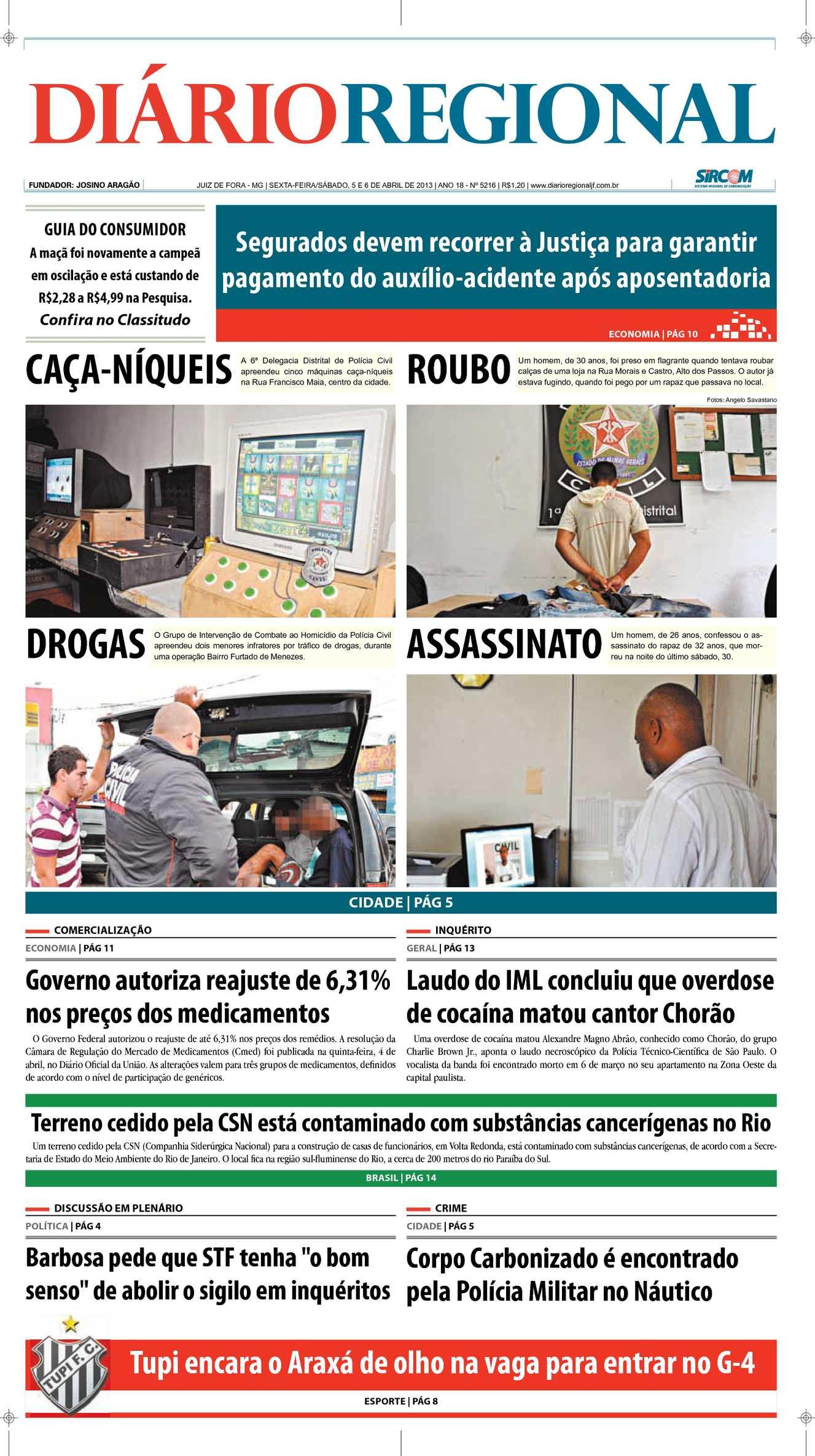 Calaméo - Edição 05 e 06/04/2013
