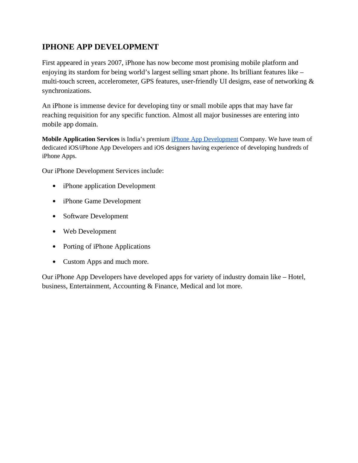 Calaméo - iPhone App Development