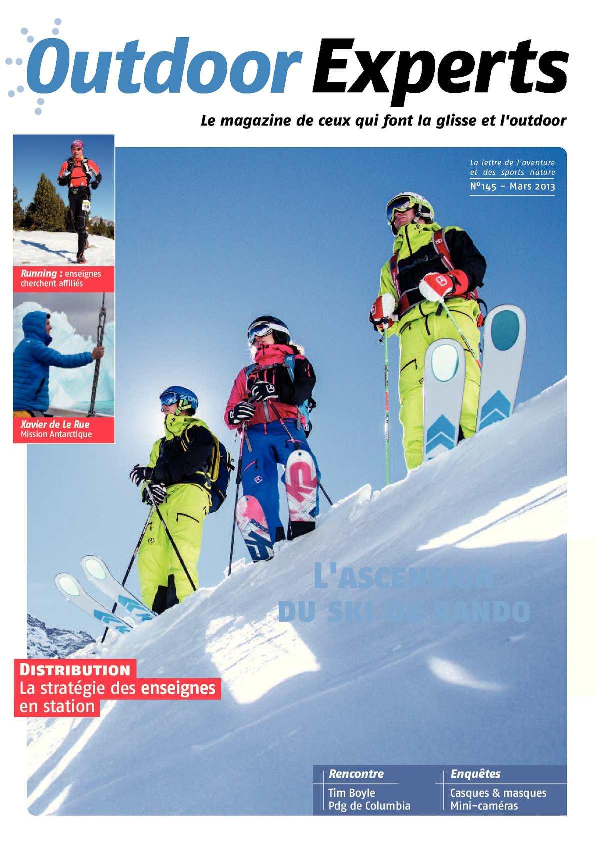 Outdoor Magazine Calaméo Experts Mars N°145 2013 N8n0wvm