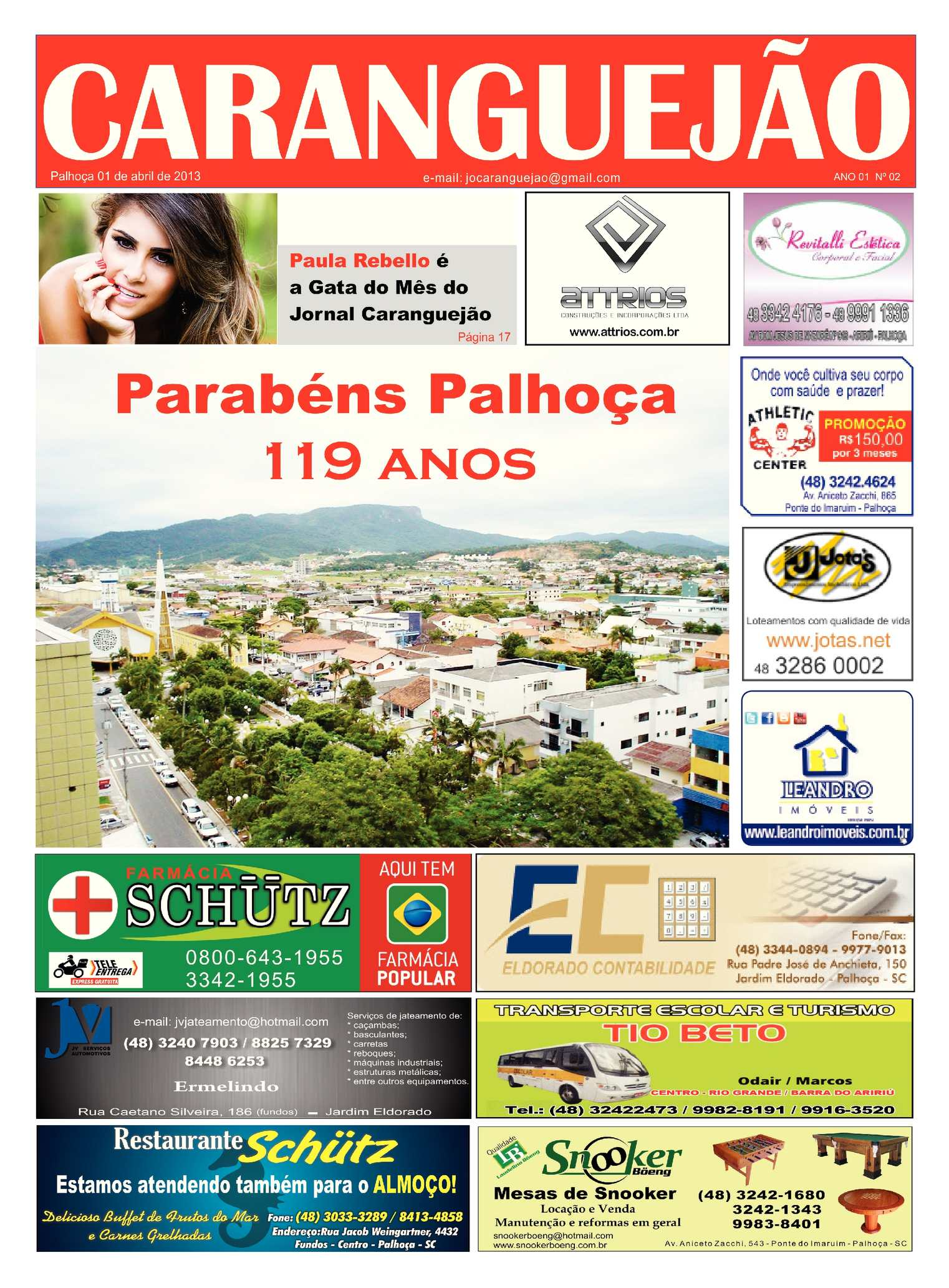 457f047fe08c Calaméo - JORNAL CARANGUEJÃO ed. 02