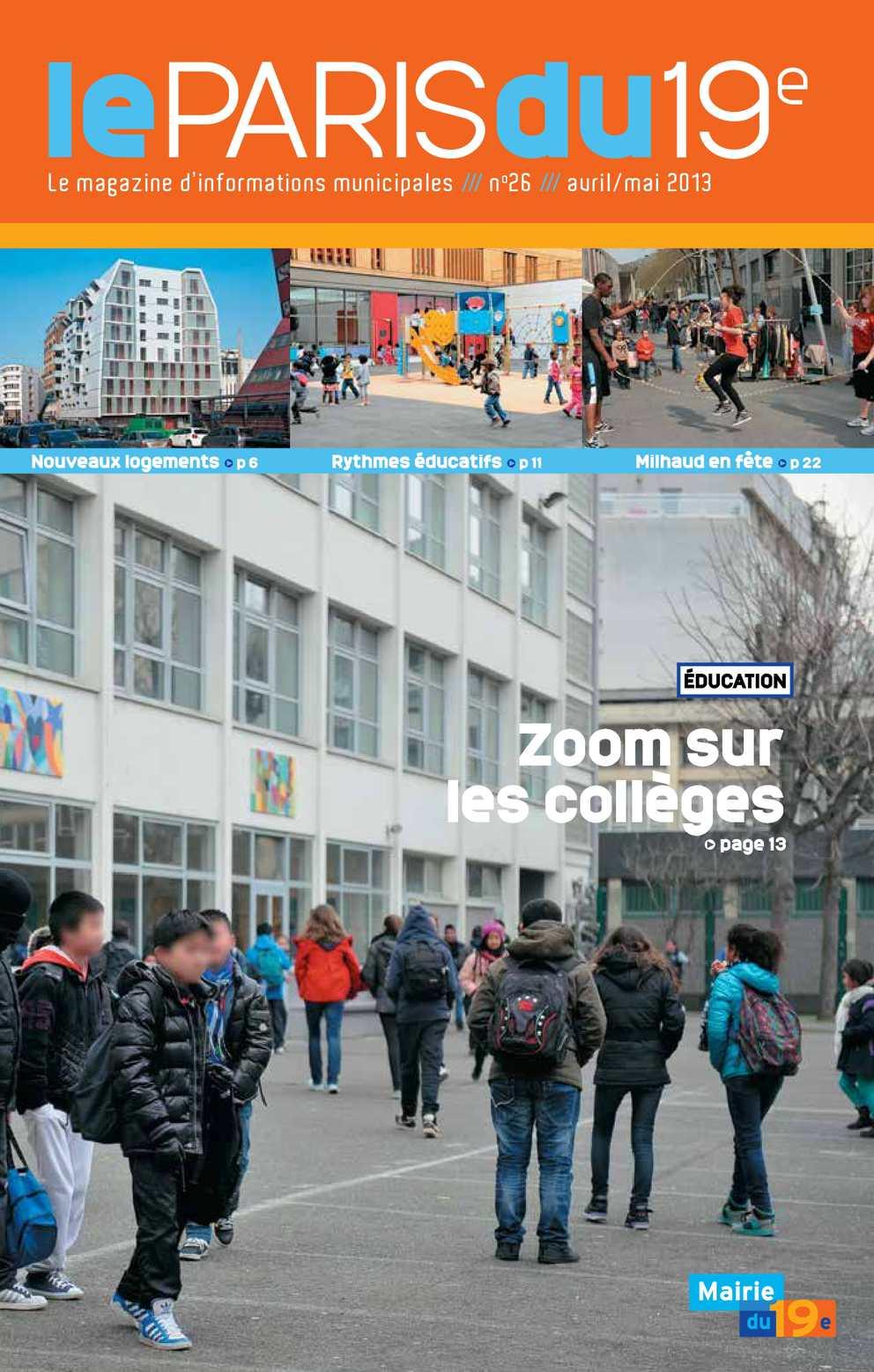 Calaméo - Le Paris du 19e n°26 4550167bd0c