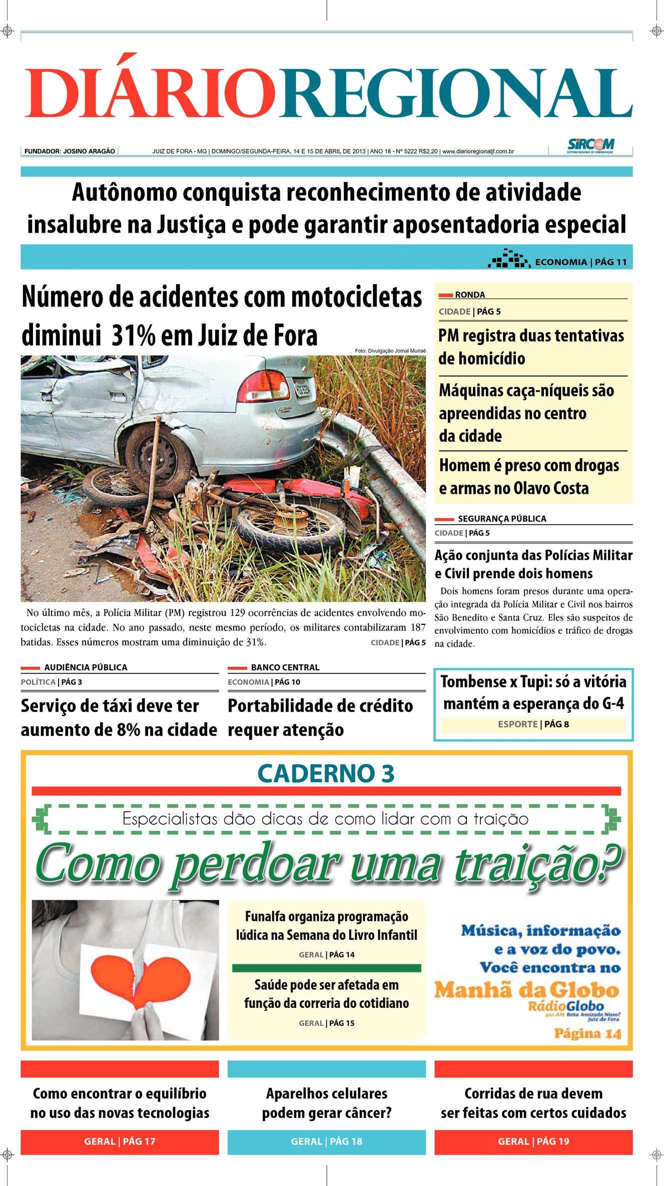 502fd9bab9c24 Calaméo - Edição 14 e 15 04 2013