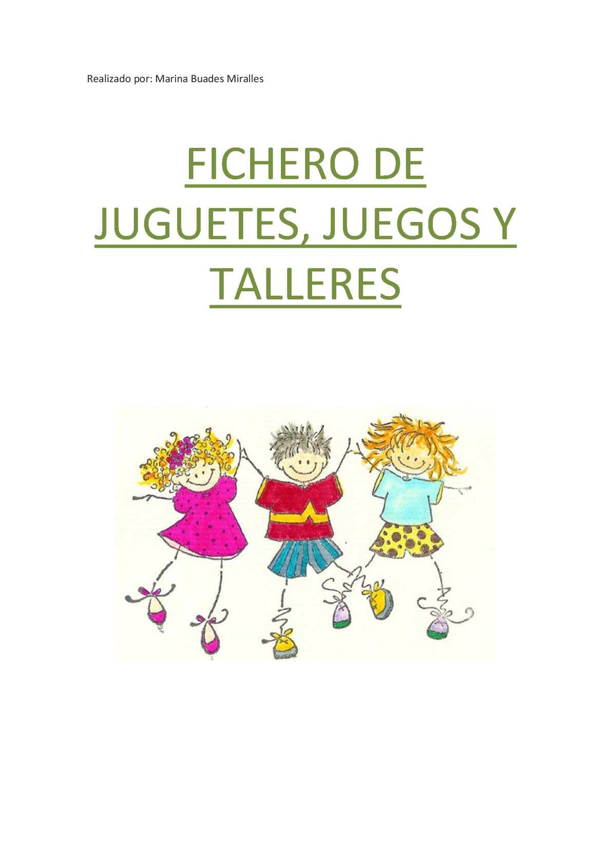 Calaméo Fichero Y De JuguetesJuegos Talleres vmyNwO08n