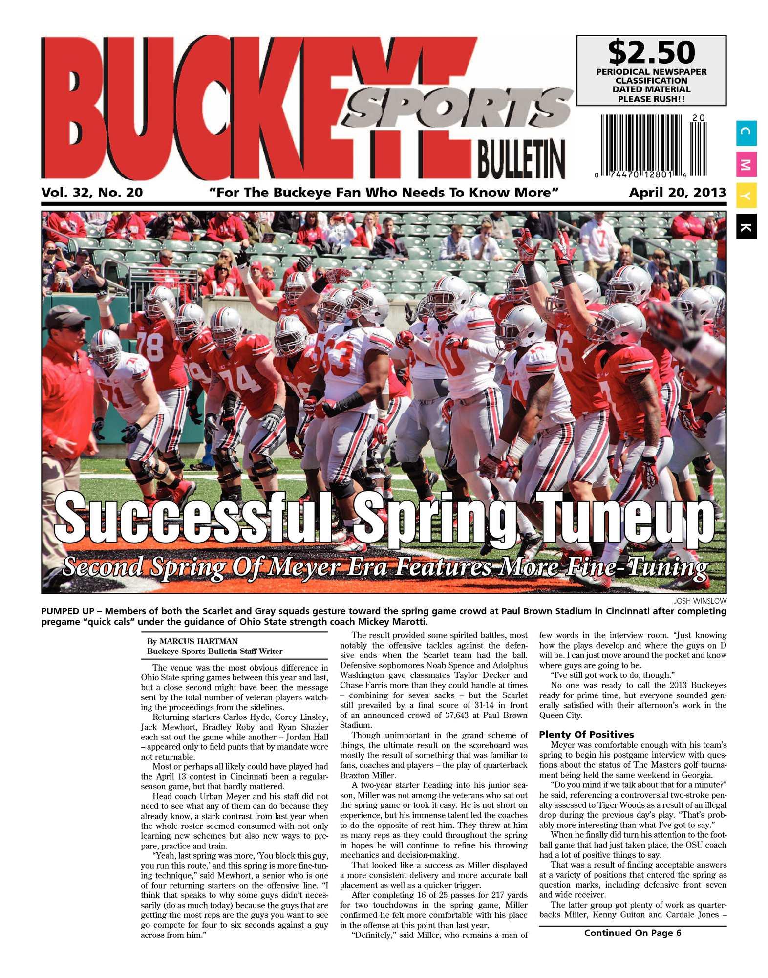 6439ac32e80d Calaméo - Buckeye Sports Bulletin April 20