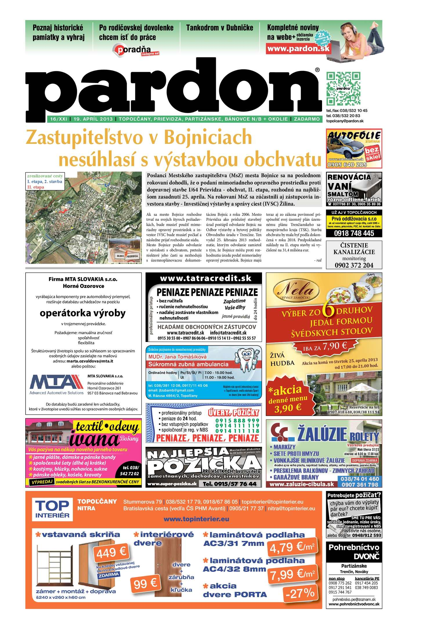 9e9e97e4a3e5 Calaméo - Pardon Topoľčany 16 2013