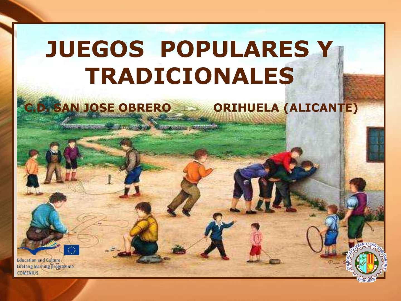 Calaméo Comenius Educación Fisica Juegos Populares 2 Cópia