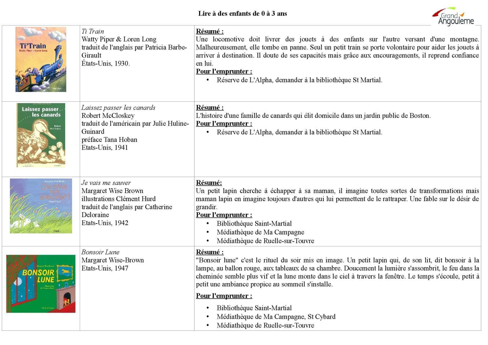 Calaméo - Bibliographie pour les 0-3 ans
