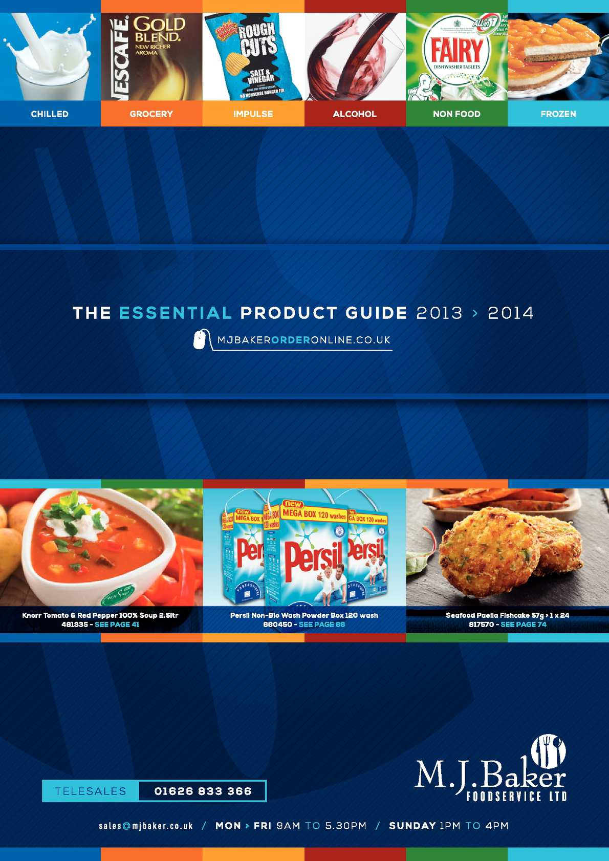 Calaméo - M J Baker Foodservice Product guide 2013/14