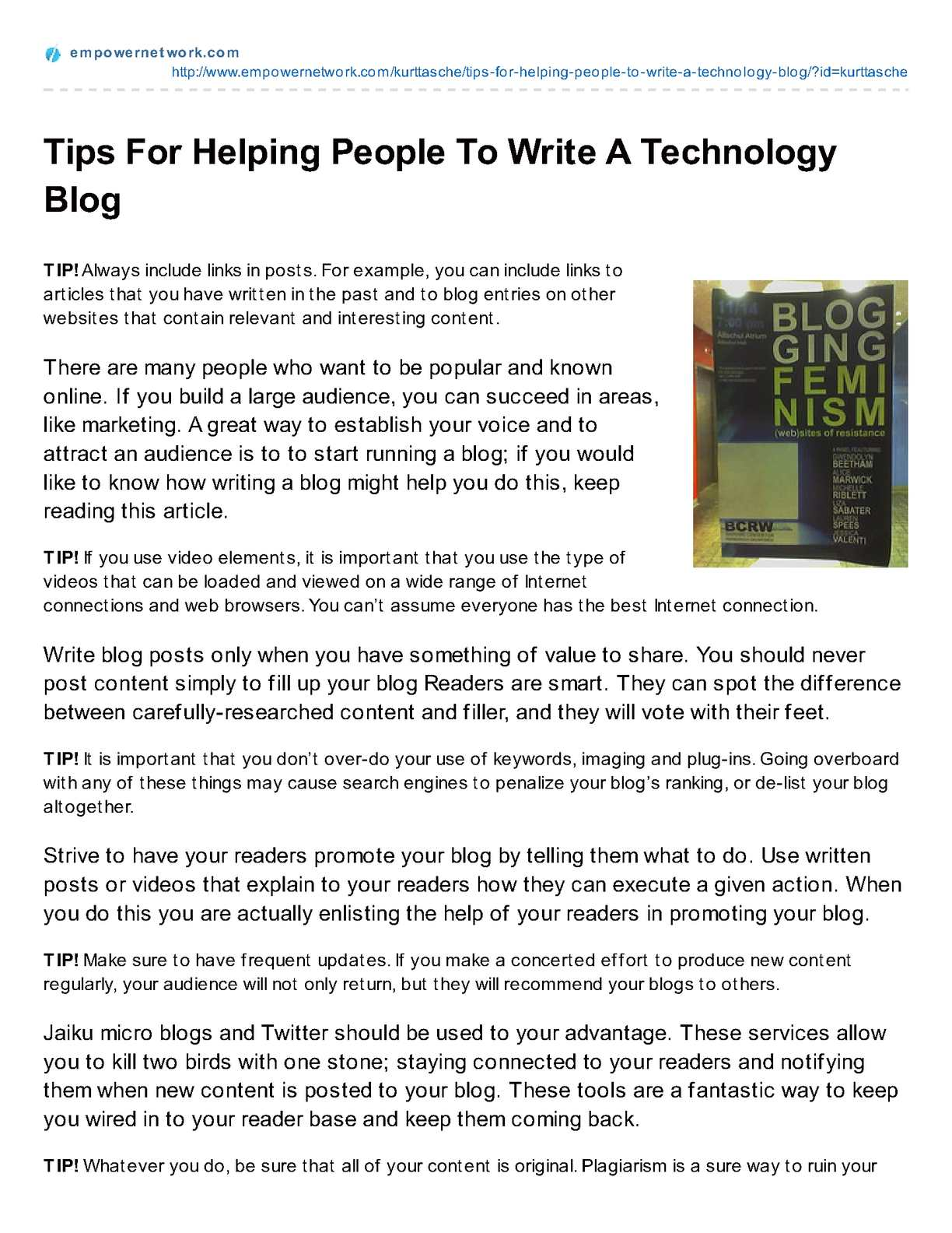 Calaméo - Tips_For_Helping_People_To_Write_A_Technology_Blog