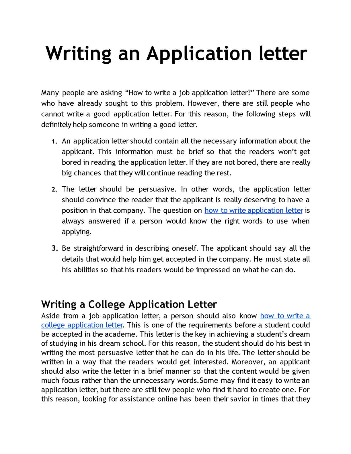 How To Start A Letter To Someone.Calameo Writing An Application Letter