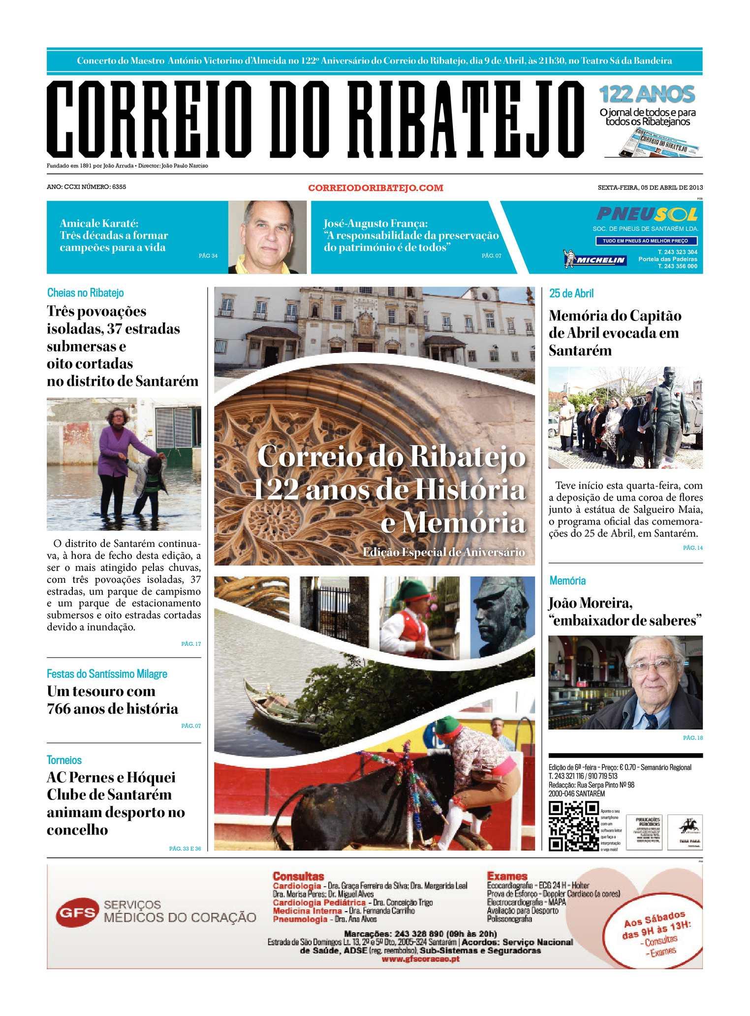 b00cf3afb752c Calaméo - Correio do Ribatejo - Edição 05 de Abril 2013