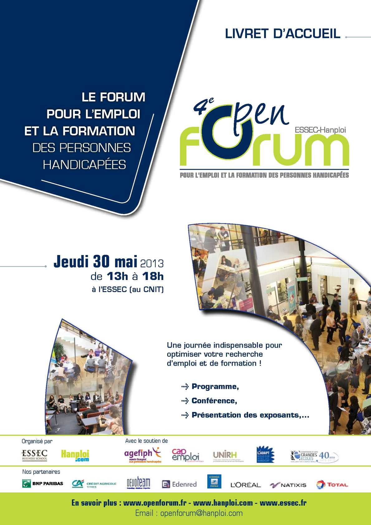 Calaméo   Open Forum   Livret d'accueil