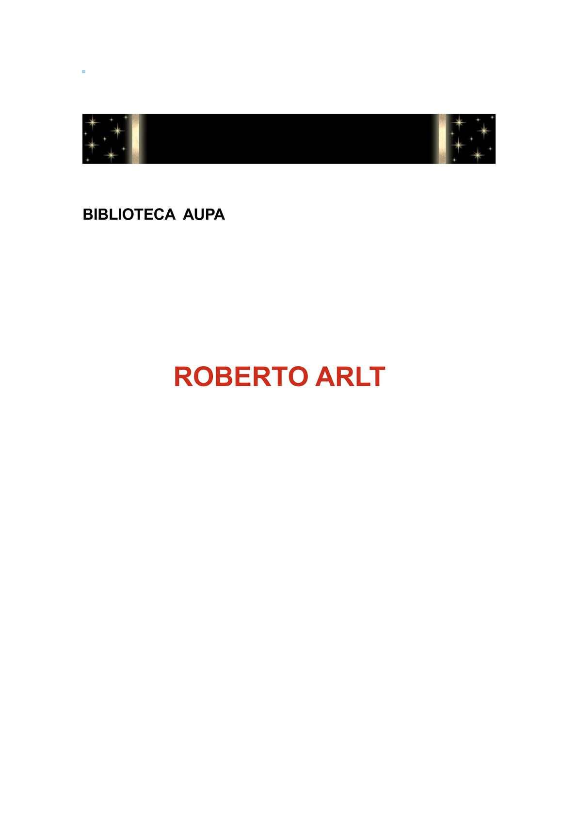Calaméo - ROBERTO ARLT RELATOS