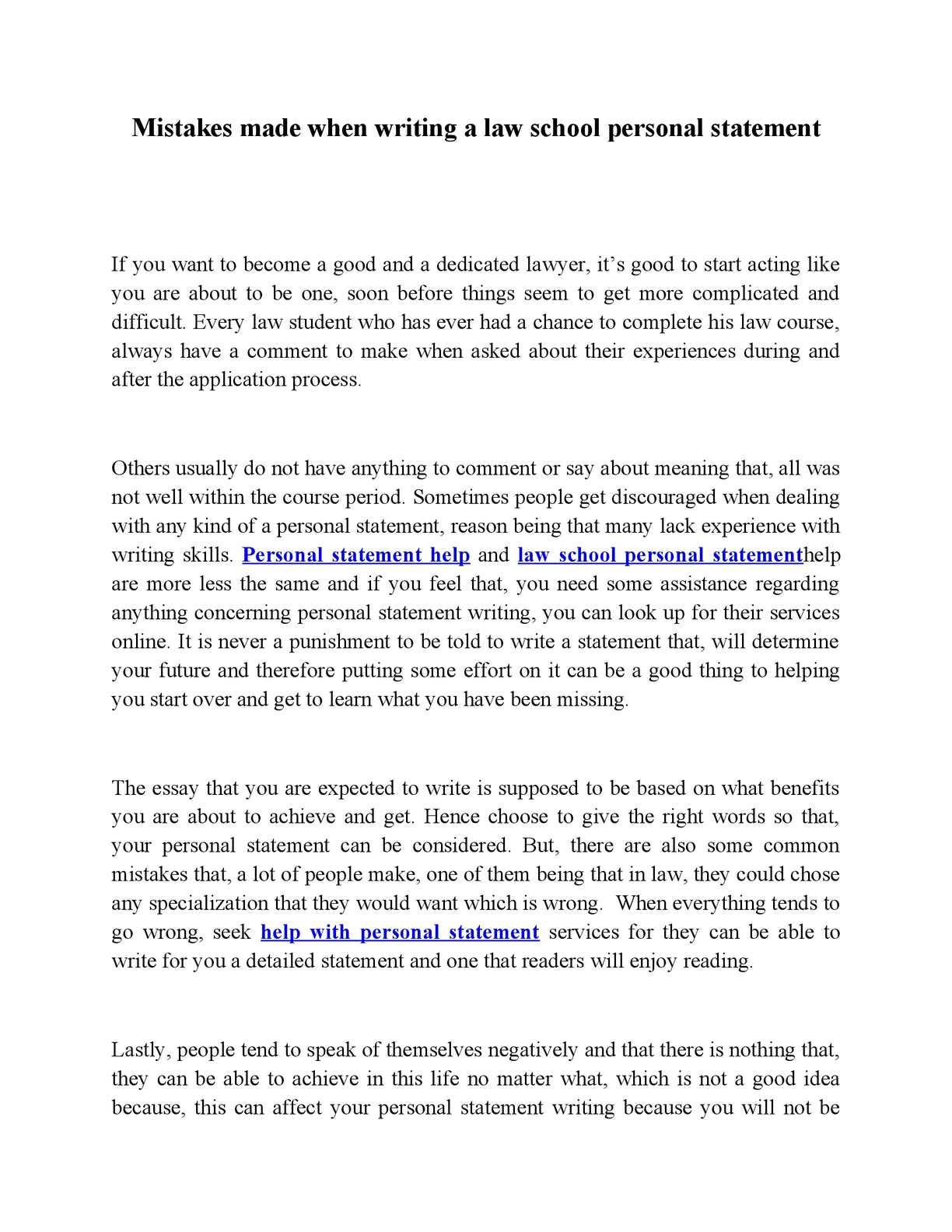 Law personal statement college essay ghostwriter website au