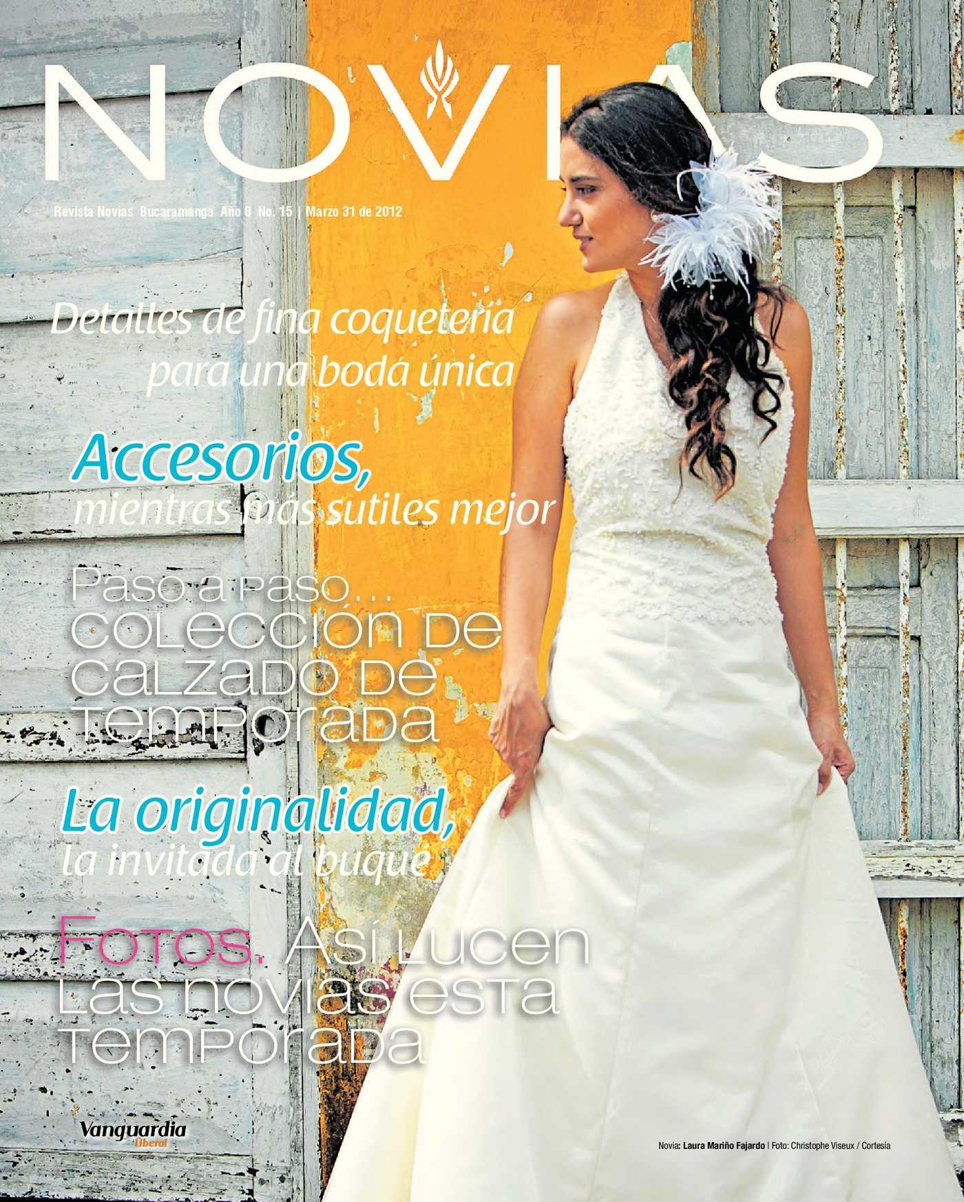 d4c2dcc00 Calaméo - Revista Novias