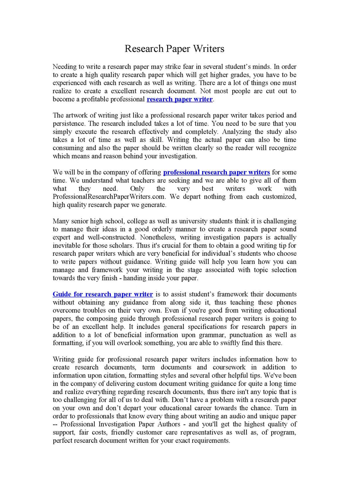 Professional research paper writing site statements of purpose