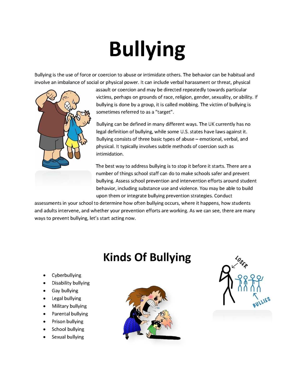 Calaméo - Bullying