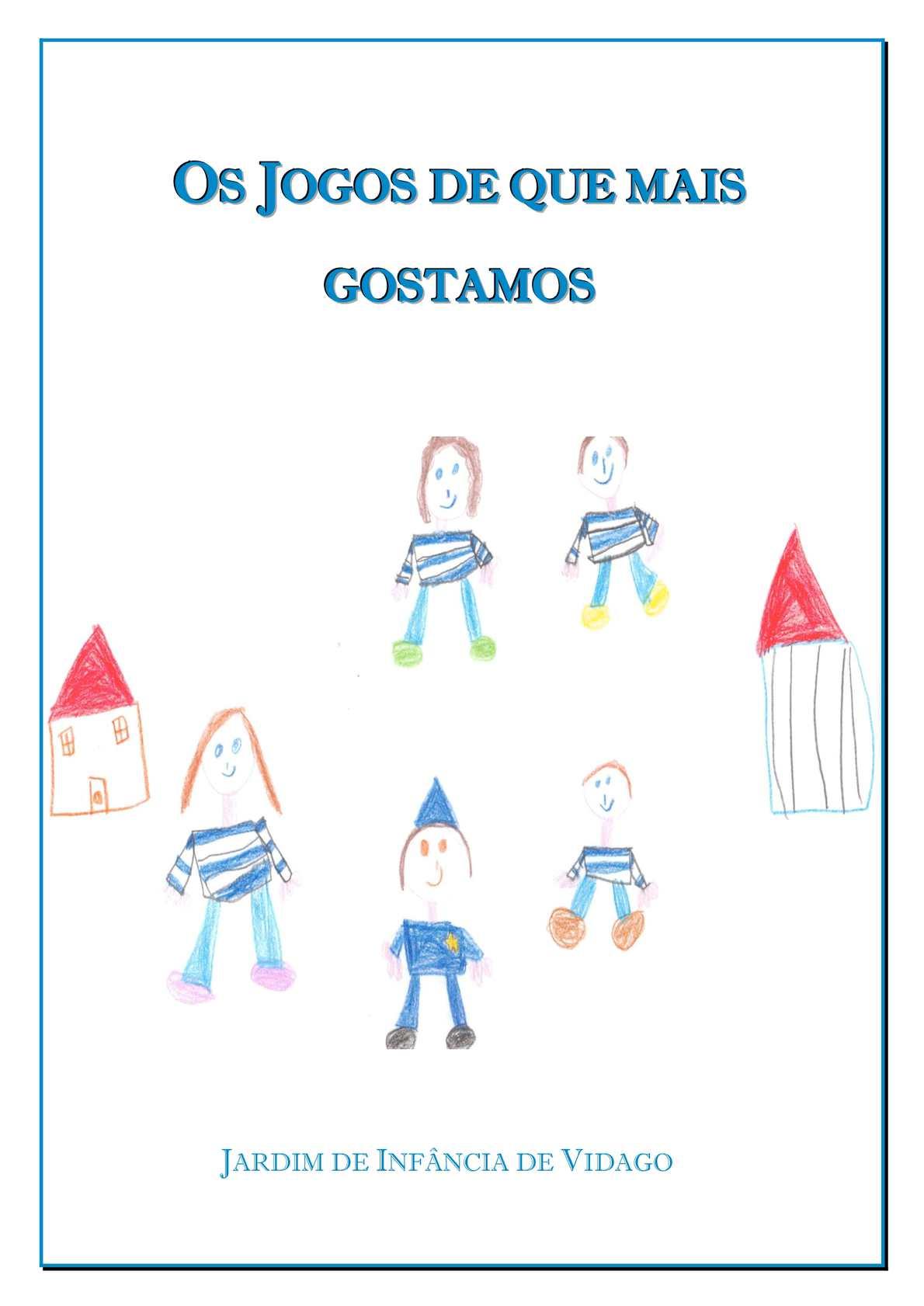 Calaméo - O livro dos jogos - pré-escolar