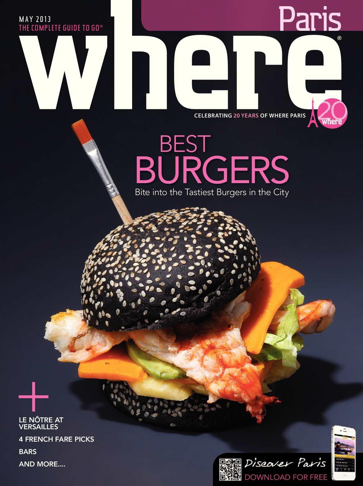 64c27780f17 Calaméo - Where Paris Magazine - May 2013