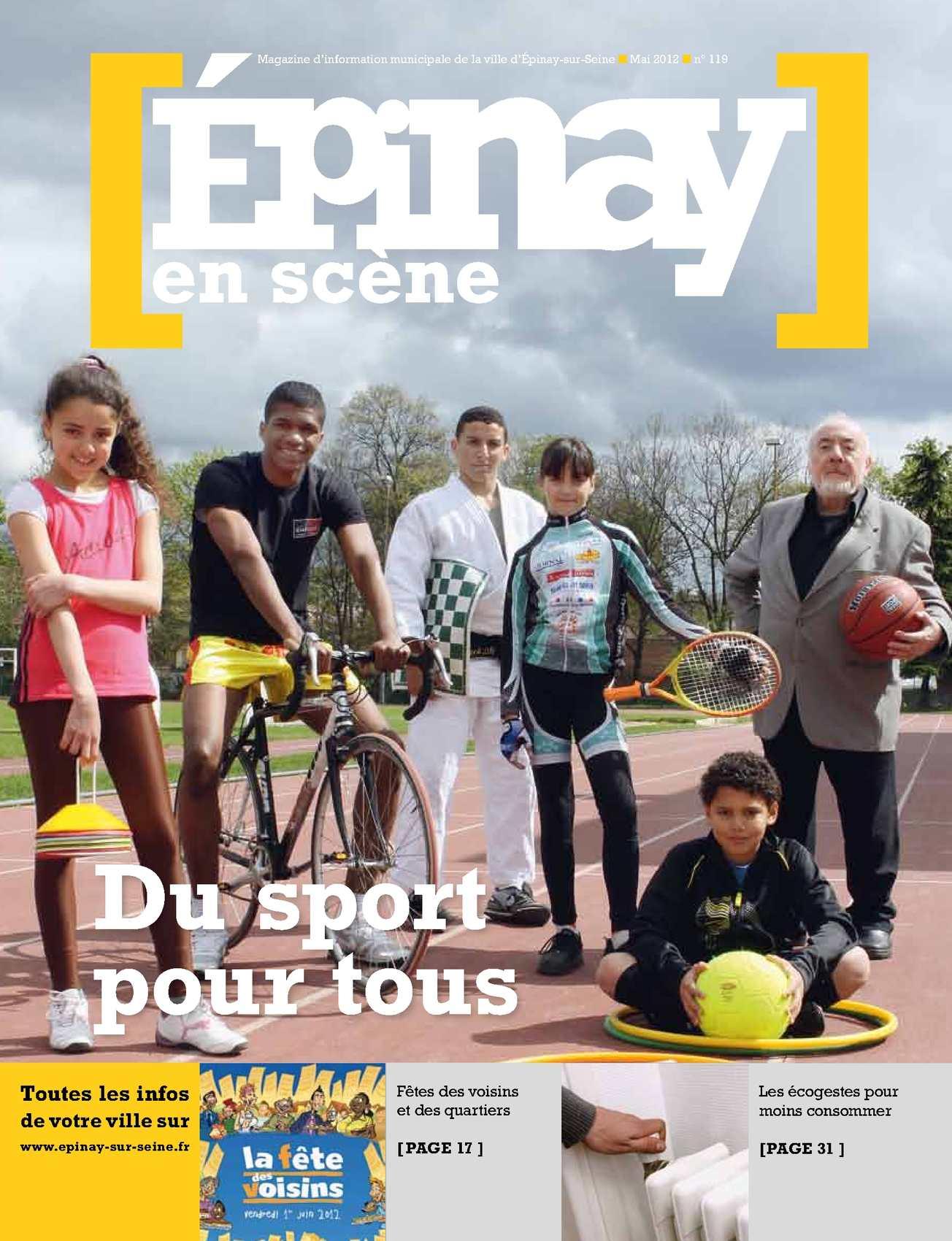 Calaméo - Épinay en scène n°119 Mai 2012