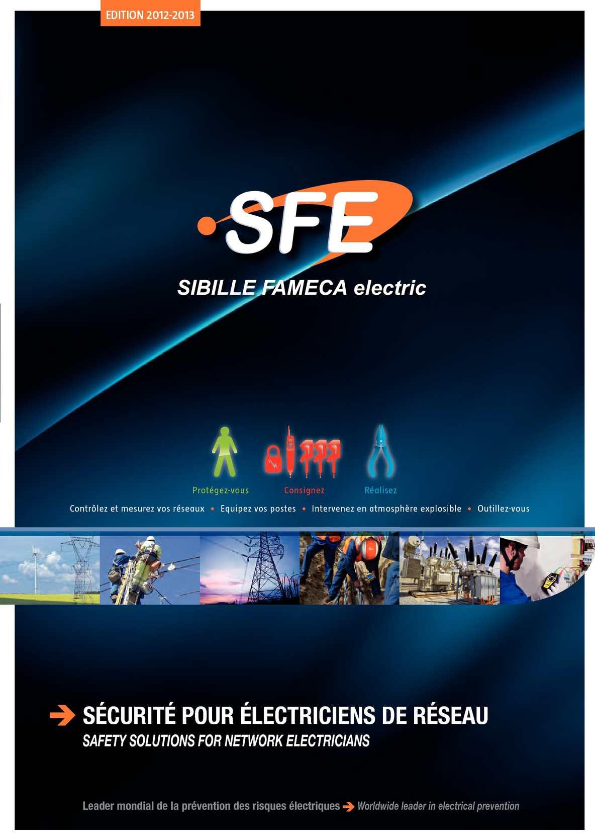 Etude De Marche Artisan Electricien calaméo - catalogue général sibille fameca electric 2012-2013