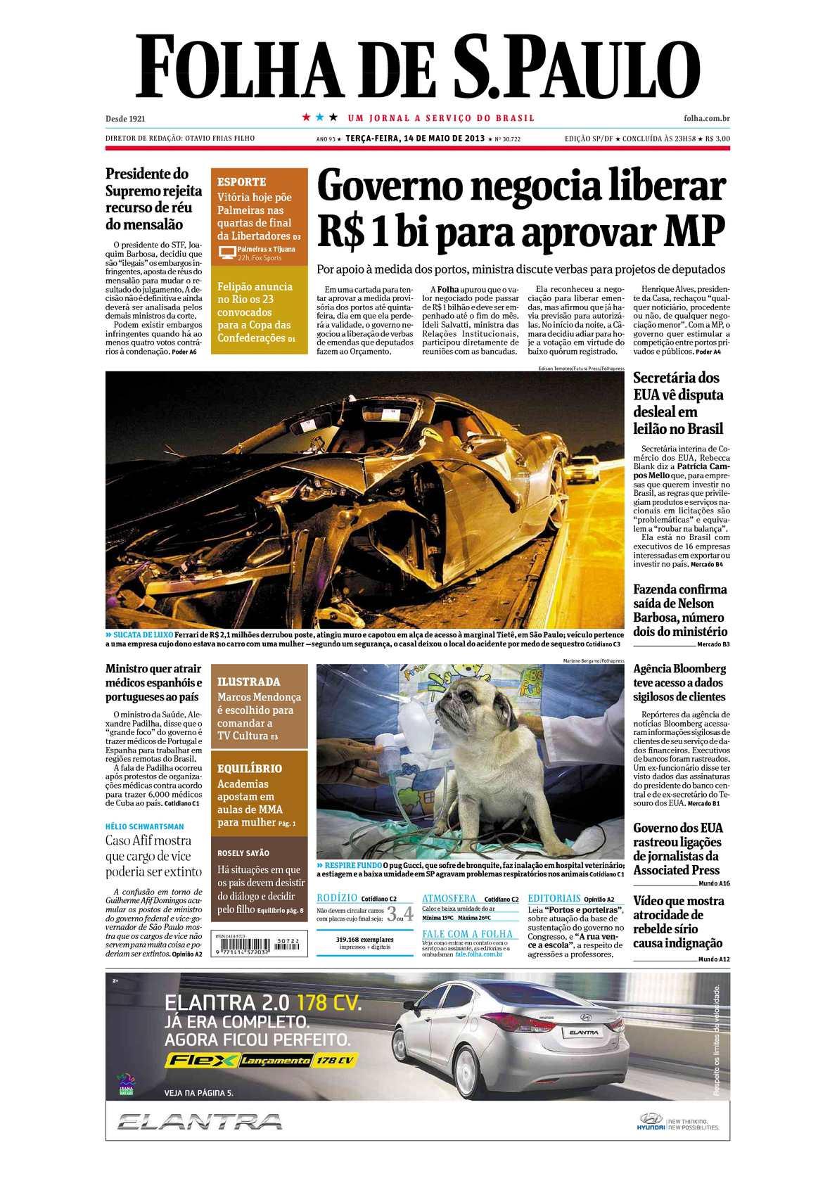90cf7af05ab Calaméo - Folha de São Paulo 14-05-2013