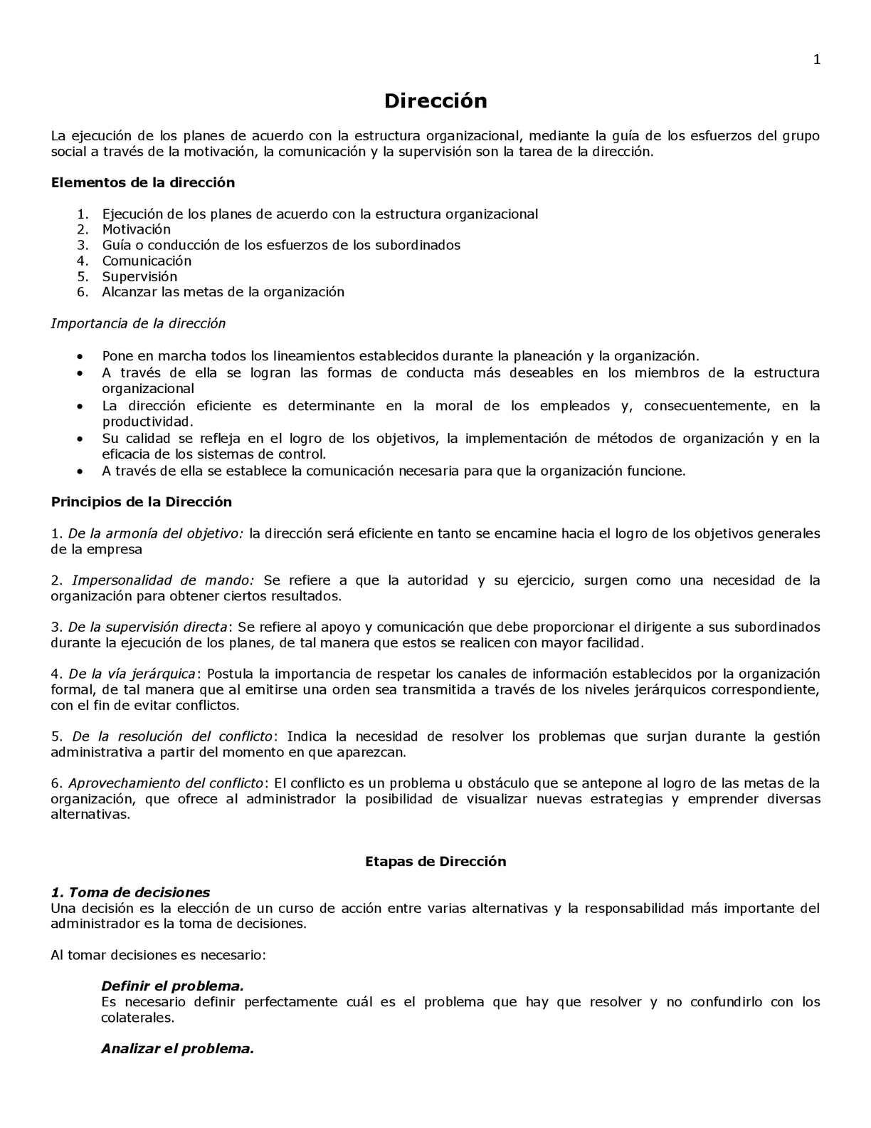 Calaméo Dirección Y Control Proceso Administrativo