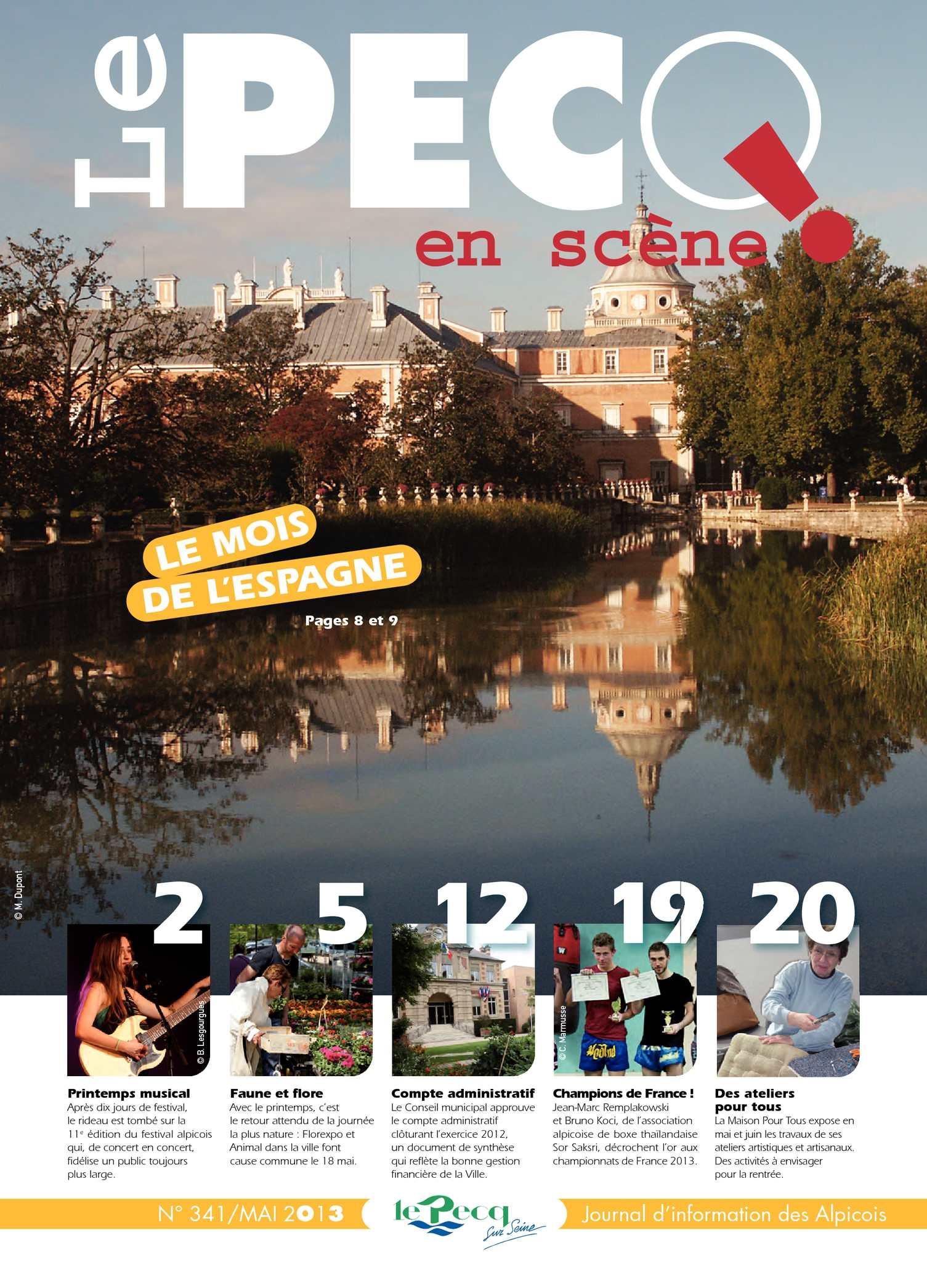 Quai Maurice Berteaux 78230 Le Pecq calaméo - le pecq en scène n°341 - mai 2013