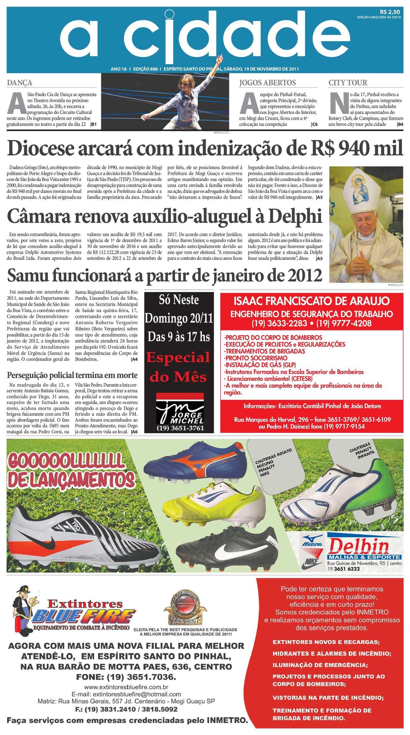 d7f38c9f1 Calaméo - Jornal A Cidade - Edição 886 de 19 11 2011