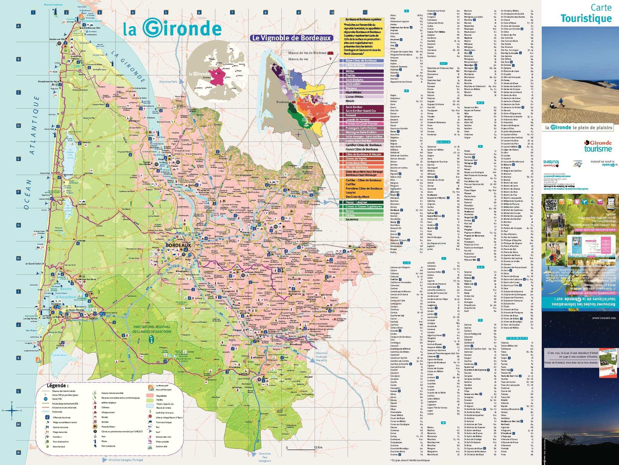 Plan Lacanau De Mios calaméo - carte touristique de la gironde