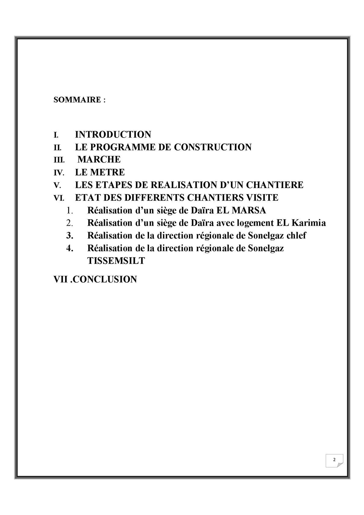 Rapport De Stage Bureau D étude Calameo Downloader
