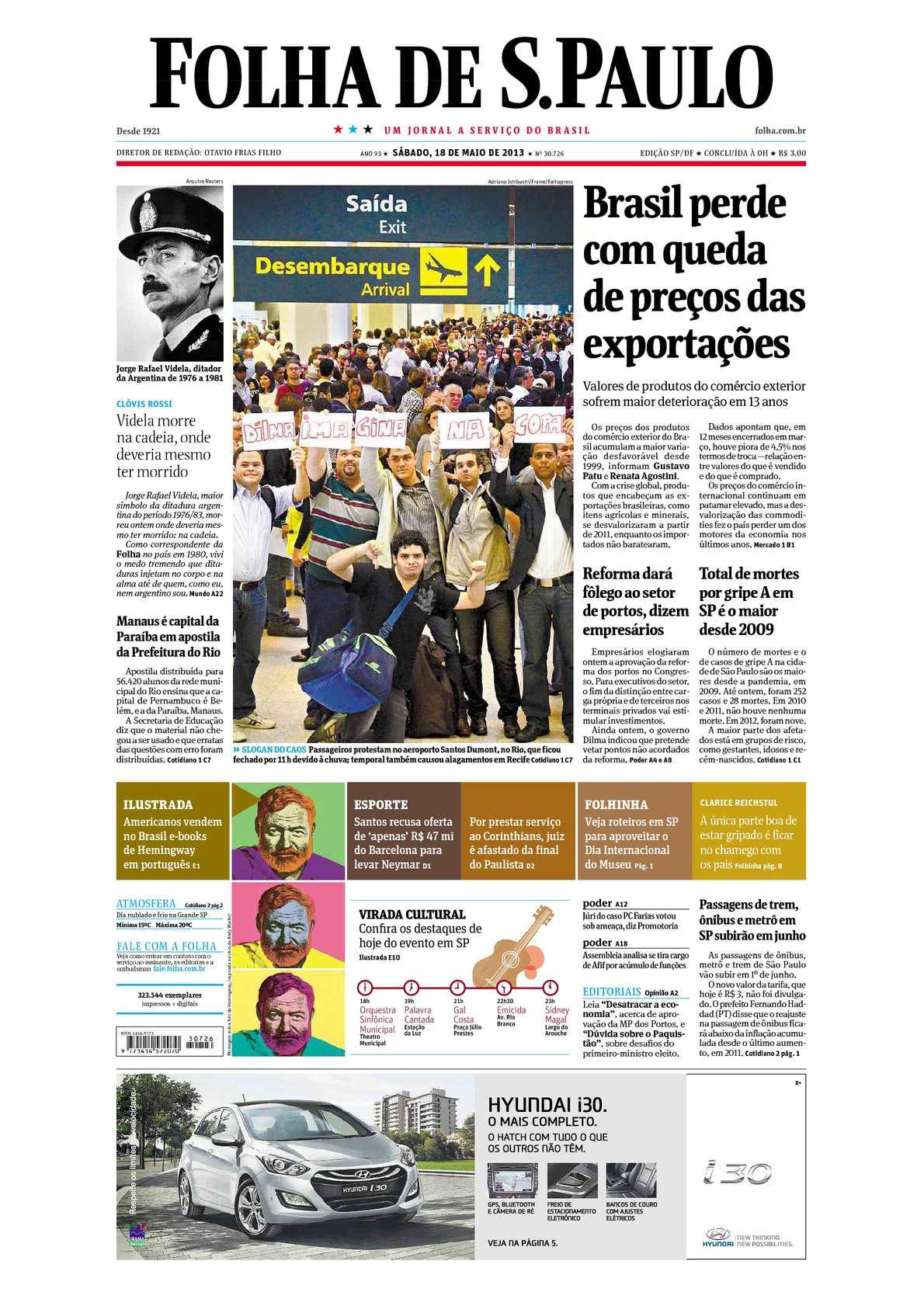 19649ede86745 Calaméo - Folha de São Paulo 18-05-2013