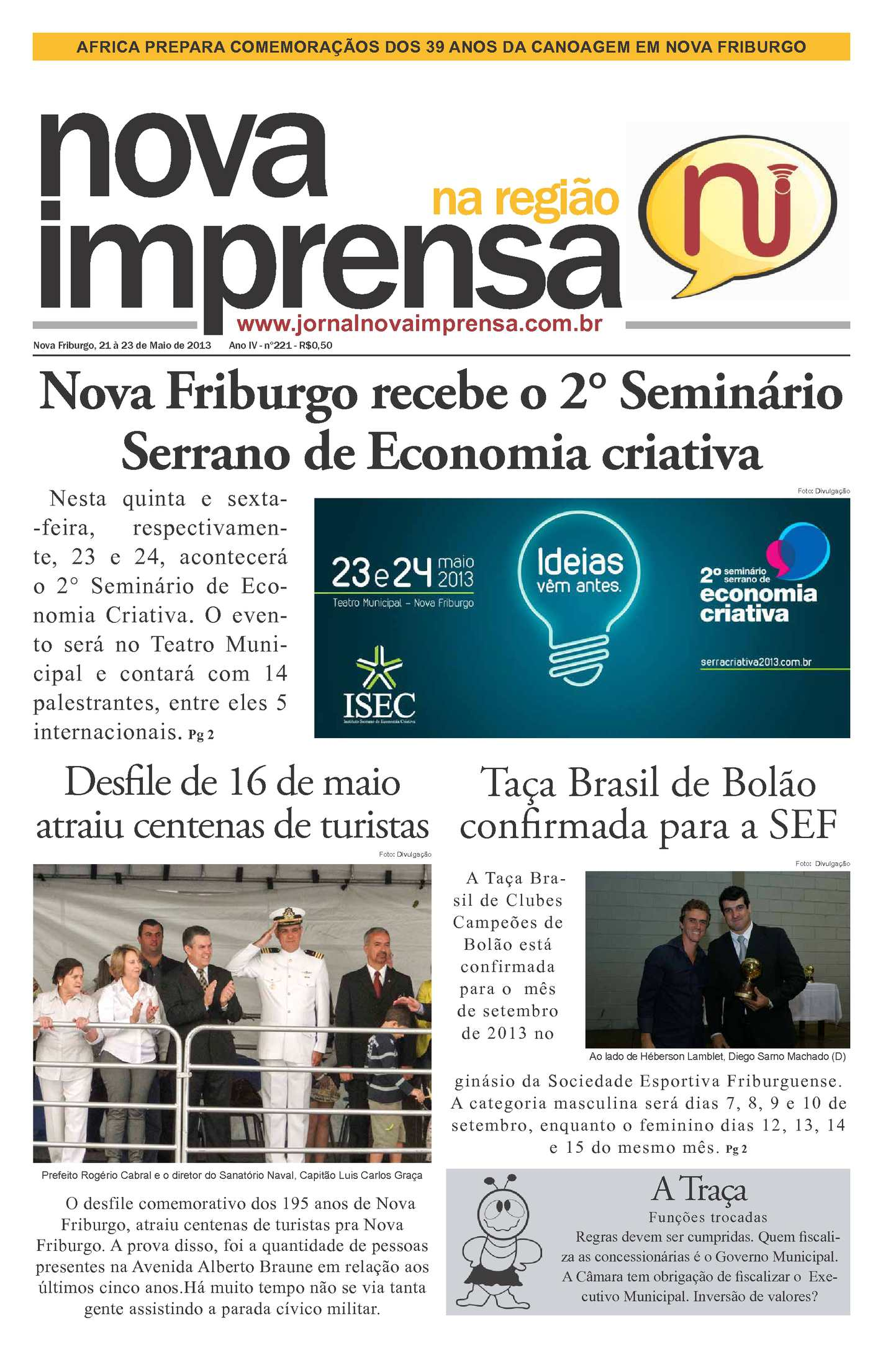 b35dc84df Calaméo - Jornal Nova Imprensa - Edição 221