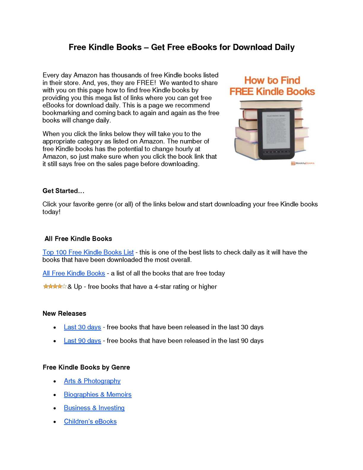 Calaméo - Free Kindle Books – Get Free eBooks for Download Daily