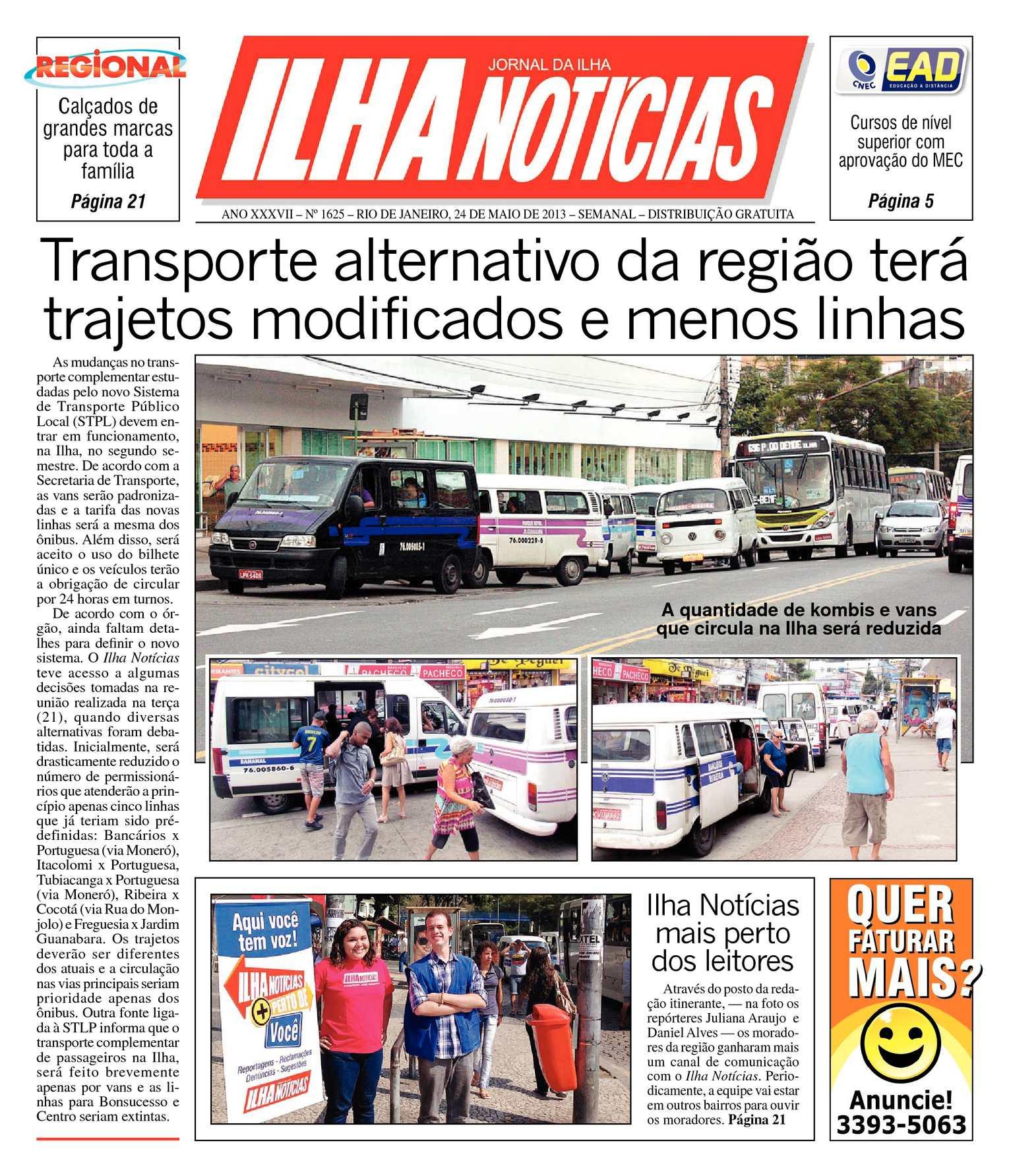 6182db7458584 Calaméo - Jornal Ilha Notícias - Edição 1625 - 24 05 2013