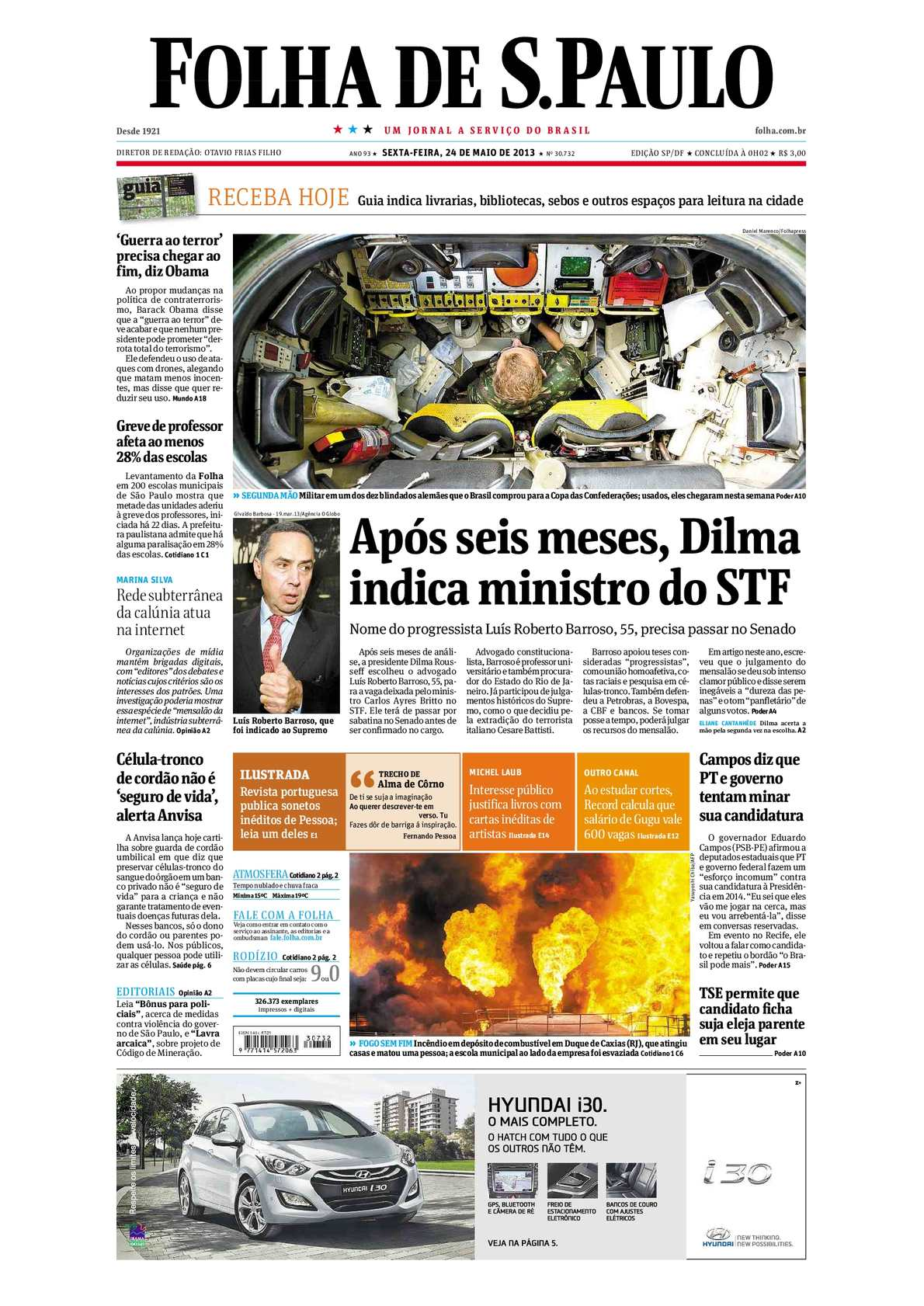 9098e2d81b5 Calaméo - Folha de São Paulo 24-05-2013