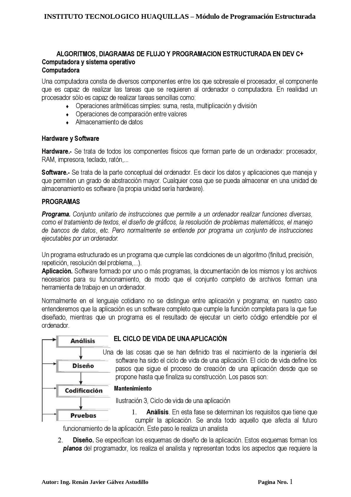 Calaméo Guia Didactica De Lenguaje De Programacion Dev C