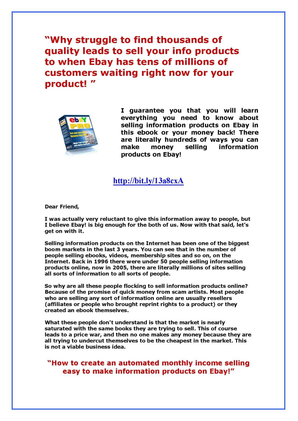 Calameo Ebay Pro