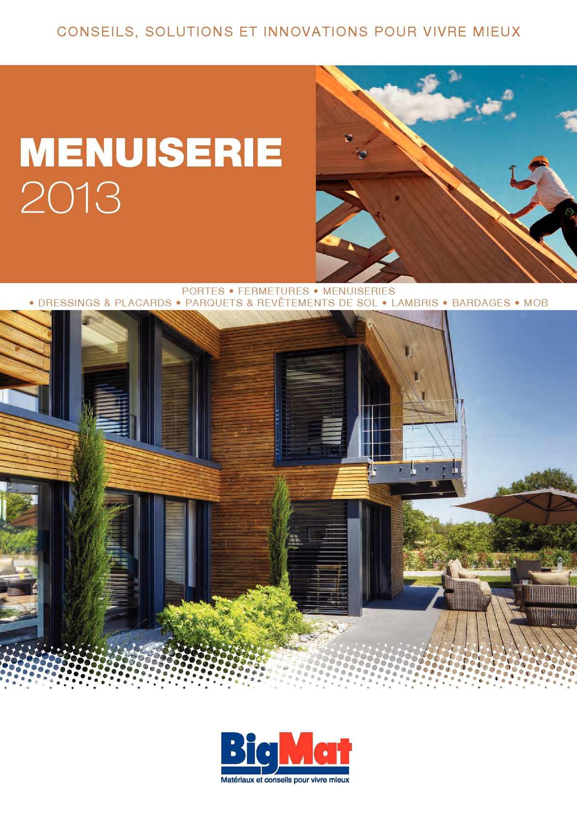 Sogal Traitement De Surface calaméo - catalogue bigmat menuiserie 2013
