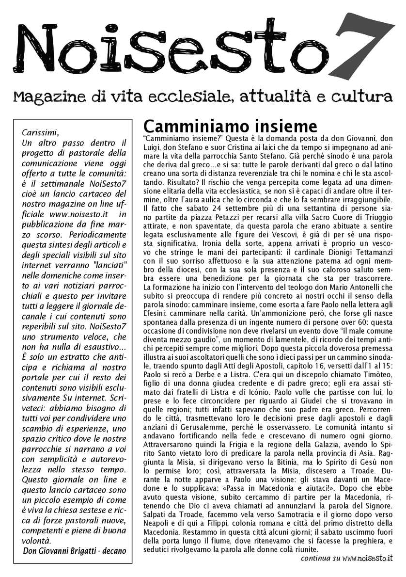 314e106381 Calaméo - Storia di NoiSesto.it - archivio