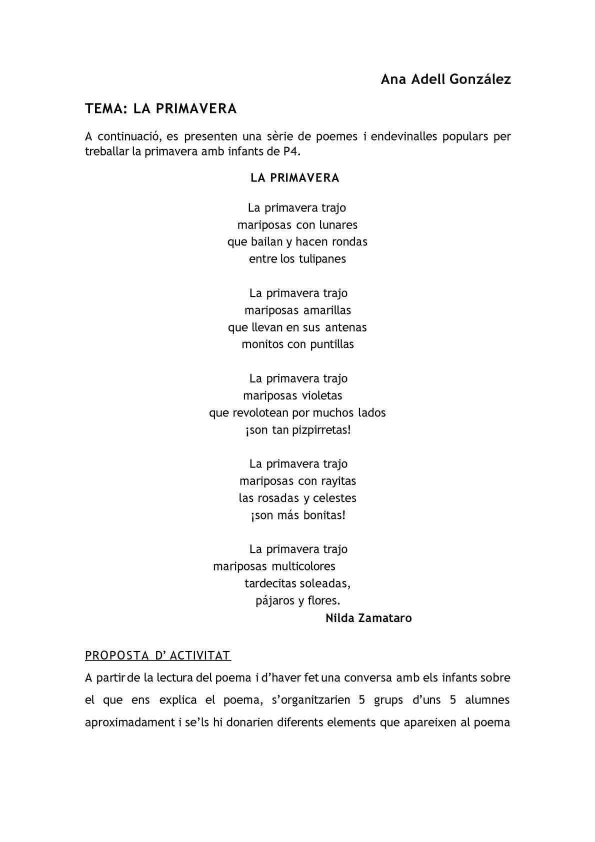 Calaméo - Poemes i activitats