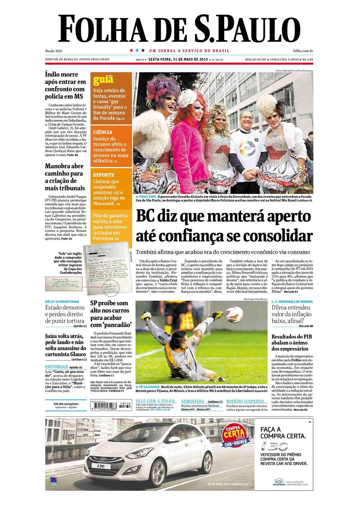94df4dc7d Calaméo - Folha de São Paulo 31-05-2013