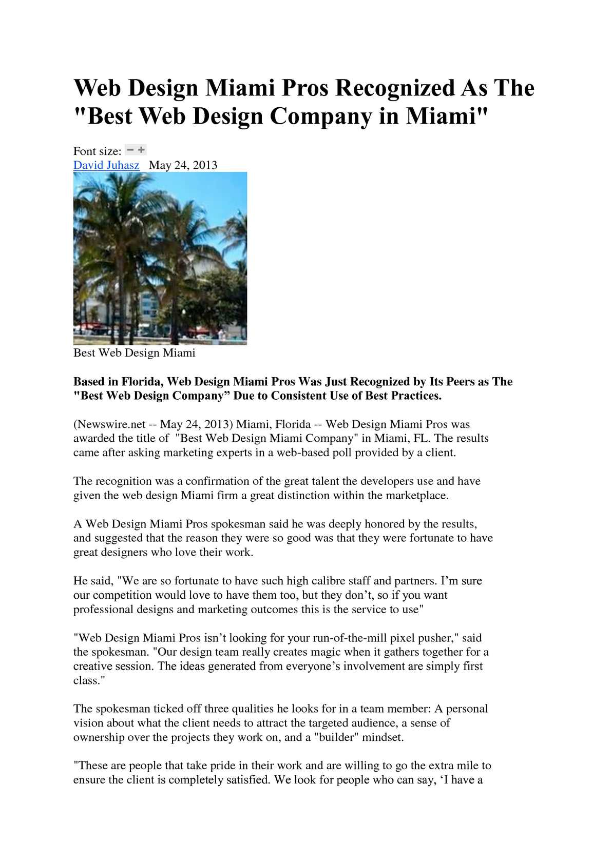 Calameo Web Design Miami Pros Recognized As The Best Web Design Company In Miami