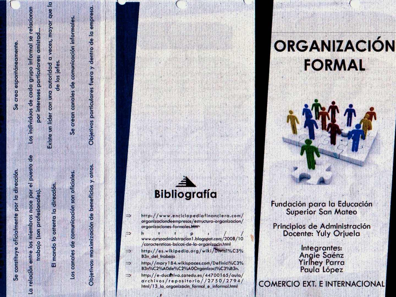 Calaméo Organizacion Formal